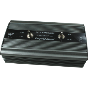 Attenuator - Recycled Sound, 6/12, -12dB, 8Ω