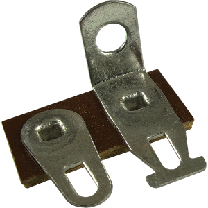 Terminal Strip - 2 Lug, 1st Lug Common, Horizontal, package of 5