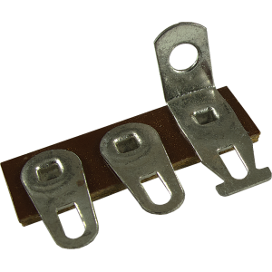 Terminal Strip - 3 Lug, 1st Lug Common, Horizontal, package of 5