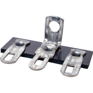 Terminal Strip - 3 Lug, 2nd Lug Common, Horizontal