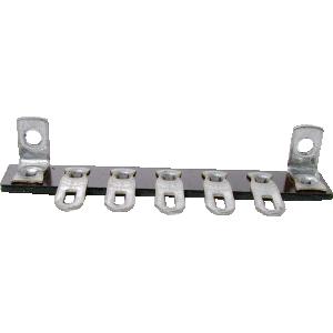 Terminal Strip - 5 Lug, 0 Common, Horizontal