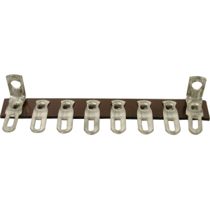 Terminal Strip - 8 Lug, 1st & 8th Lug Common, Horizontal