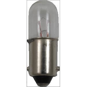Dial Lamp - #43, T-3-1/4, 2.5V, .50A, Bayonet Base
