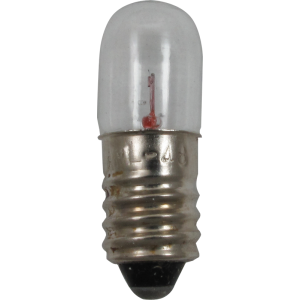 Dial Lamp - #48, T-3-1/4, 2.0V, .06A, Screw Base
