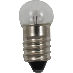 Dial Lamp - #50, G-3-1/2, 7.5V, .22A, Screw Base
