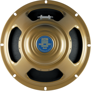 "Speaker - Celestion, 10"", G10 Alnico Gold, 40W"