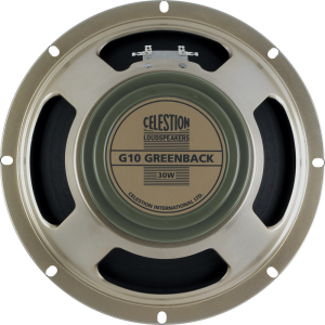 "Speaker - Celestion, 10"", G10M Greenback, 30W"