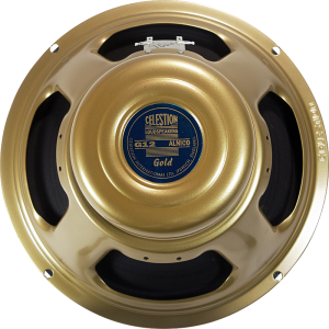 "Speaker - Celestion, 12"", G12 Alnico Gold, 50W"