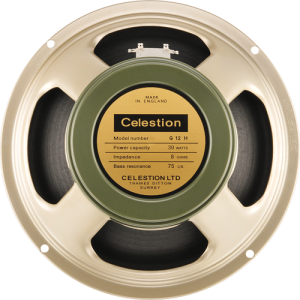 "Speaker - Celestion, 12"", Heritage G12H(75), 30 watts, 15 ohm"