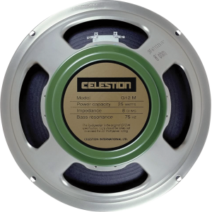 "Speaker - Celestion, 12"", G12M ""Greenback"", 25W"