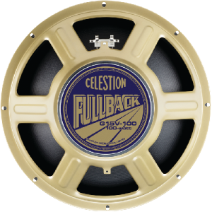 Speaker - 15 in. Celestion, G15V-100 Fullback, 100 W, 8 Ohm