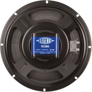 "Speaker - Eminence®, 10"", Legend 1028K, 35 watts"