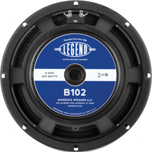 "Speaker - Eminence® Bass, 10"", Legend B102, 200 watts"