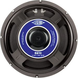 "Speaker - Eminence® Bass, 10"", Legend B810, 150 watts"