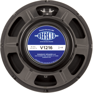 "Speaker - Eminence®, 12"", Legend V1216, 120 watts"