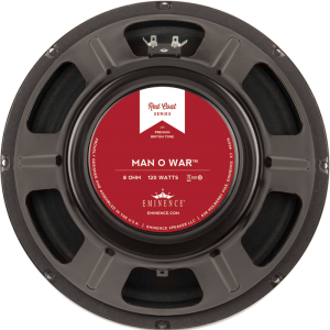 "Speaker - Eminence® Redcoat, 12"", Man O War, 120 watts"