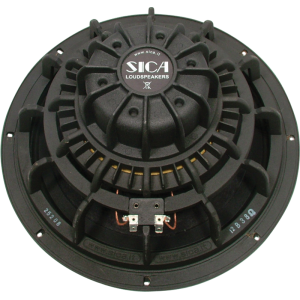 "Speaker - 12"" Sica Bass, Ceramic, 350W, 8 Ohm, Aluminum, B-Stock"