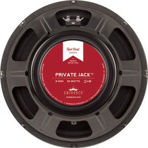"Speaker - Eminence® Redcoat, 12"", Private Jack, 50W, 8Ω"