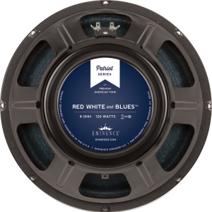 "Speaker - Eminence® Patriot, 12"", Red, White and Blues, 120W"