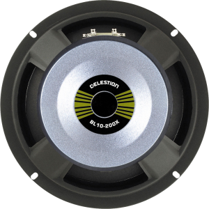 "Speaker - Celestion, 10"", BL10-200X, 200 watts"