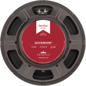 "Speaker - Eminence® Redcoat, 12"", The Governor, 75W, 8Ω"