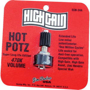 Potentiometer - Dunlop Hot Potz, 470K