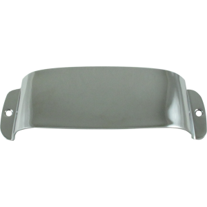 Pickup cover - Fender®, for Vintage J-Bass, chrome