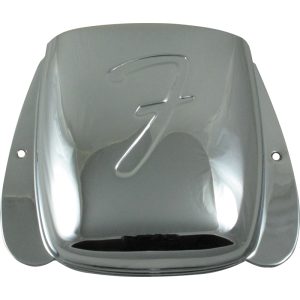 Bridge Cover - Fender®, for Vintage J-Bass, Chrome