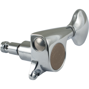 Tuner - Gotoh, Mini 510 Locking, chrome, 6-in-a-line