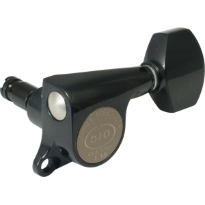 Tuner - Gotoh, Mini 510 Locking Grover-style, 6 in a line