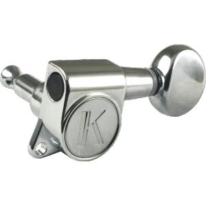 Machine Head - Kluson, 6/line, Chrome, Contemporary Diecast