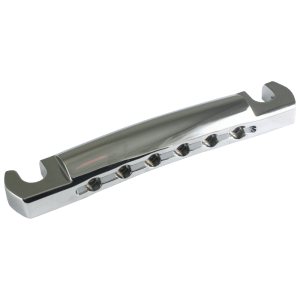 Tailpiece - Kluson, Lightweight Aluminum, w/ Steel Studs