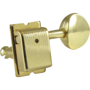 Tuning machine - Kluson, 6 in line, Traditional with oval button