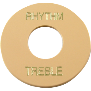 Switchwashers, Gibson® cream with gold imprint