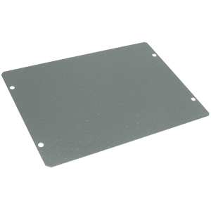 "Cover Plate - Hammond, Steel, 7"" x 5"", 20 Gauge"