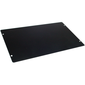 "Cover Plate - Hammond, Steel, 10"" x 6"", Black"