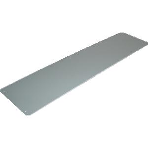 "Cover Plate - Hammond, Steel, 17"" x 4"", 20 Gauge"