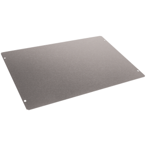 "Cover Plate, Hammond, 20 Gauge Steel, 12"" x 8"""