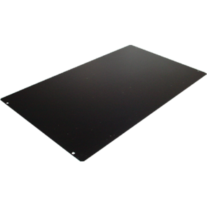"Cover Plate, Hammond, Black Steel, 17"" x 10"""