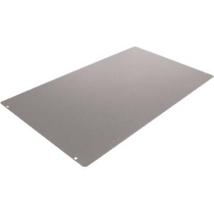 "Cover Plate, Hammond, 20 Gauge Steel, 12"" x 10"""