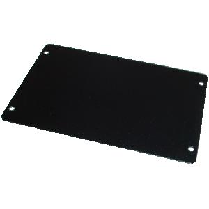 "Cover Plate - Hammond, Steel, 6"" x 4"", Black"