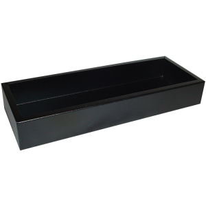 "Chassis Box - Hammond, Steel, 13.5"" x 5"" x 2"", Black"