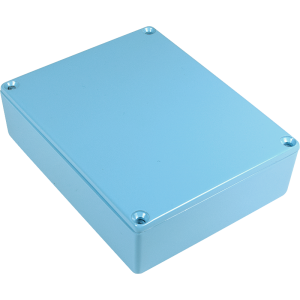 Chassis Box - Diecast Aluminum, Light Blue