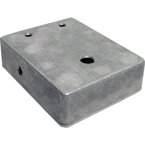 "Chassis Box - Aluminum, 4.67"" x 3.68"" x 1.18"", pre-drilled"