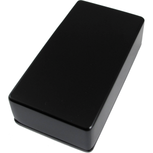 "Chassis Box - 4.39"" x 2.34"" x 1.06"", Black"