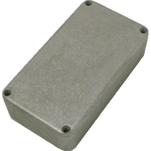 "Chassis Box - Diecast Aluminum, 4.39"" x 2.34"" x 1.06"""