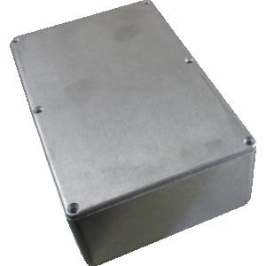 "Chassis Box - Hammond, Unpainted Aluminum, 7.38"" x 4.70"" x 2.05"""
