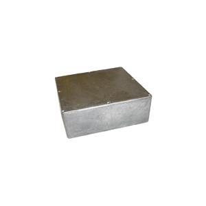 "Chassis Box - Hammond, Unpainted Aluminum, 7.38"" x 7.38"" x 2.48"""