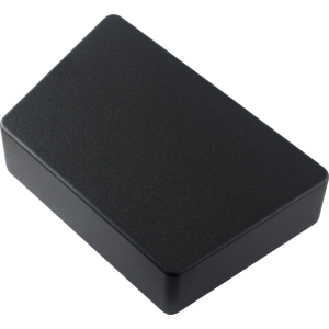 Enclosure- Hammond, 1590TRPCBK, Trapezoid, Black