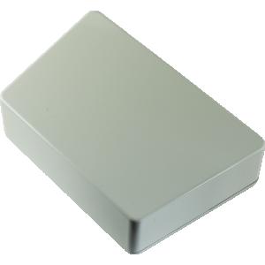 Chassis Box - Hammond, Trapezoid, Light Gray